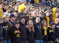 ASU Students at football game