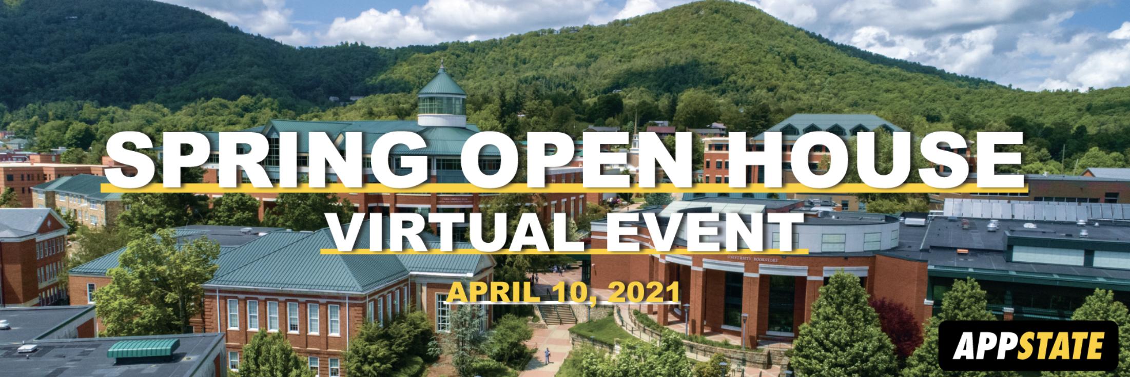 Virtual Spring Open House